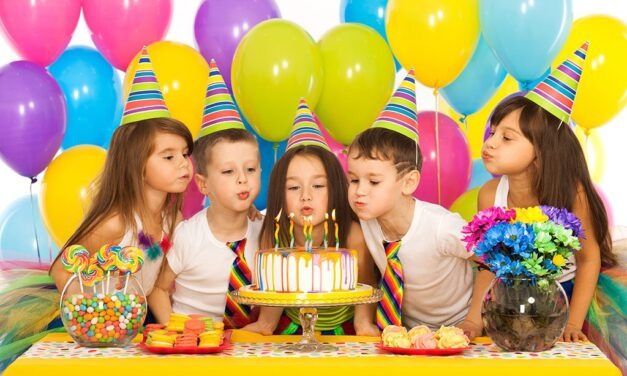 Making a memorable kids birthday party on a budget